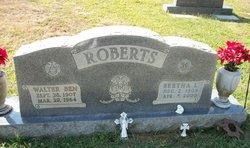 Bertha Leigh <i>Hart</i> Roberts