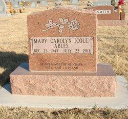 Mary Carolyn <i>Cole</i> Ables