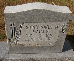 Sophfronia Matilda <i>Walker</i> Watson