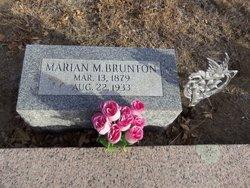 Marian M. <i>Carter</i> Brunton