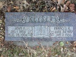 John Fred Keyser