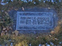 Margaret E. <i>Prewitt</i> Anderson