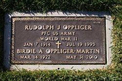 Rudolph J Oppliger