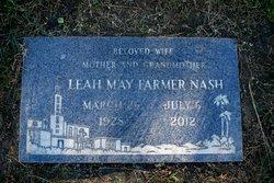Leah May <i>Farmer</i> Nash