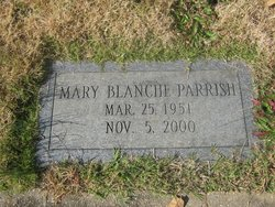 Mary Blanche Parrish