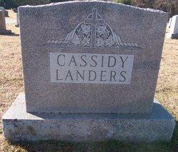 Catherine Rita <i>Landers</i> Cassidy