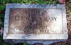 Leroy Webb, Jr