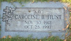 Caroline B Kay Hunt