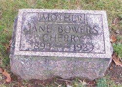 Jane Jennie <i>Bowers</i> Cherry
