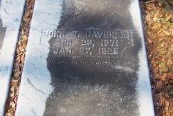 John T Davidson