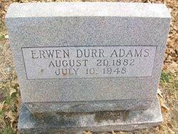 Erwen <i>Durr</i> Adams