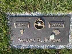 Barbara R <i>Flatt</i> Johnson