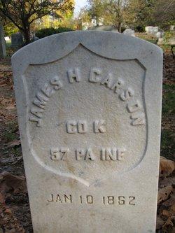 Pvt James H Carson