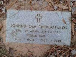 Corp Johnnie Sam Chergotakos