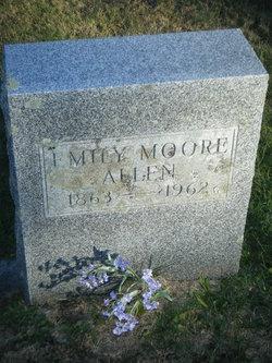 Emily G Emma <i>Moore</i> Allen