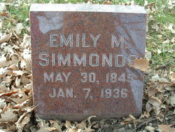 Emily M. <i>Cuppy</i> Simmonds