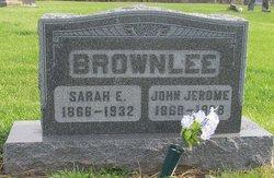 Sarah Elizabeth <i>Hudson</i> Brownlee