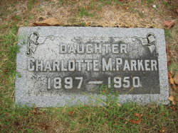 Charlotte M. <i>Bergner</i> Parker