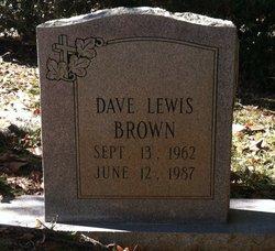 Dave Lewis Brown