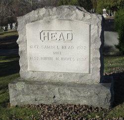 Mary Martha Minnie <i>Hawes</i> Head