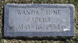 Wanda June Carlile