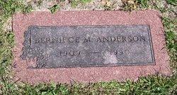 Berneice M Anderson