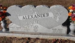 Mary Olive Alexander