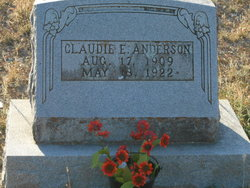 Claudie E. Anderson