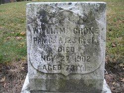 Pvt William Crone