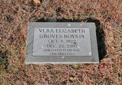 Vera Elizabeth <i>Groves</i> Boykin