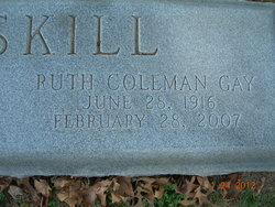 Ruth Coleman Gay Gaitskill