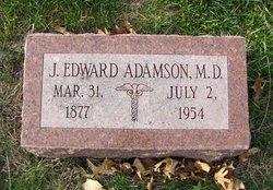 Dr James Edward Adamson