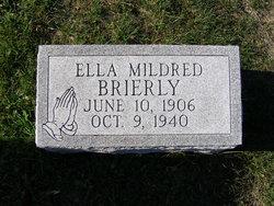 Ella Mildred <i>Bradley</i> Brierly