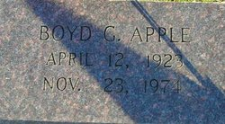 Boyd Glen Apple