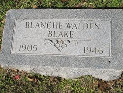 Blanche <i>Walden</i> Blake