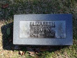 Elizabeth Bettie <i>Childress</i> Brown