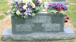 Mrs Minnie Elcie <i>Carter</i> Peterson