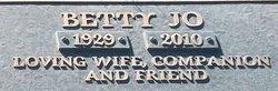 Betty Jo <i>Zimmerman</i> Fenton