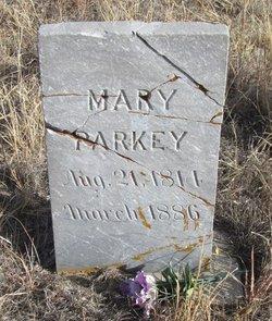 Mary Polly <i>Edwards</i> Parkey