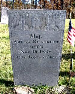 Maj Abraham Brackett