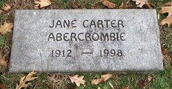 Jane <i>Carter</i> Abercrombie