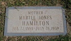 Myrtle <i>Jones</i> Hamilton