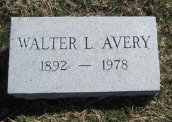 Lieut Walter Lindsey Avery
