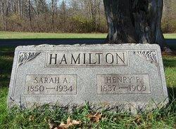 Sarah Ann <i>Camp</i> Hamilton