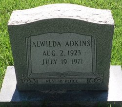 Alwilda <i>Johnson</i> Adkins