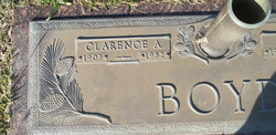 Clarence A Boyd