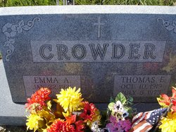 Emma Anna <i>Flaim</i> Crowder John