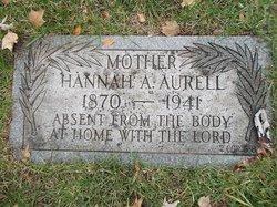 Hannah Antoinette <i>Christensen</i> Aurell