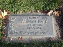 Ashman Rose