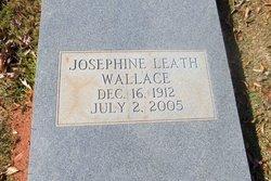 Josephine <i>Leath</i> Wallace